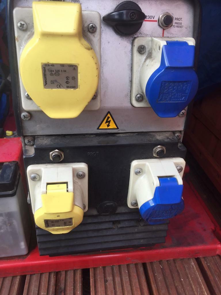 Vanguard Briggs and Stratton 8kva 16hp petrol generator | in Northampton,  Northamptonshire | Gumtree