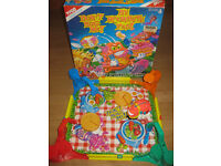 """VINTAGE TYCO """"DON'T BUG ME"""" 1994 BLOCK THE BUG GAME - GREAT FUN + FREE £10 STICKER BOOK"""