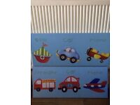 X2 canvases for child bedroom
