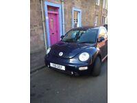 Dark Blue VW Beetle