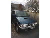 NISSAN TERRANO SVE TD For spares or repair