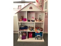 Dolls House Book Shelf/Storage Unit from The Great Little Trading Company