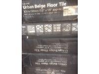 7 boxes unopened 300 x 300 floor tiles colour detailed as per photograph
