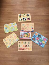 Children's puzzles.