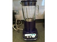 Kitchen Aid blender - blue