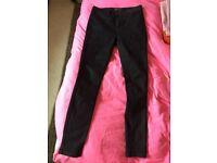 S10-12 Label Lab (House of Fraser) womens jeggings/jeans - black