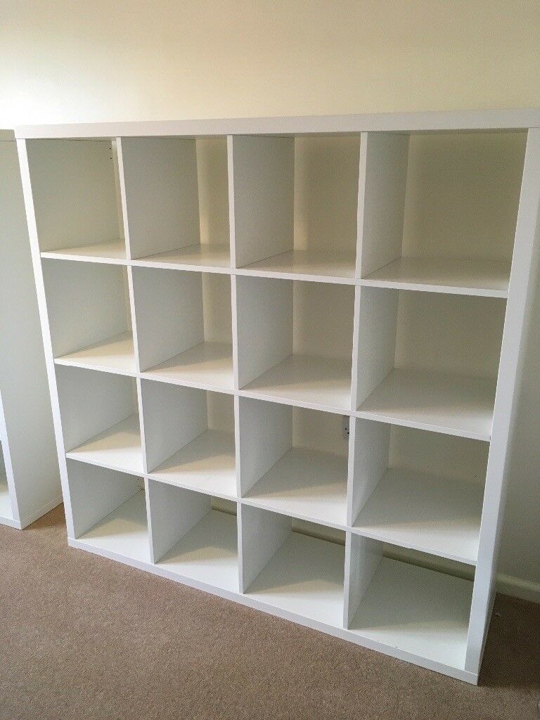 IKEA KALLUX Single or Pair of Shelving Unit/s White - £45 each or £80 for pair