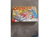Operation board gamr