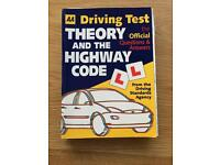 Driving Test Theory and the Highway Code- book
