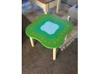 Child's activity table