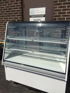 Coldmatic Curved Glass Refrigerated  Display  Show Case