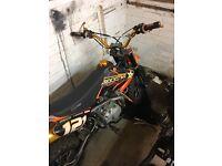 Stomp 140 z pit bike for sale