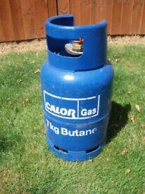 FULL Calor Gas 7kg Butane Bottle Cylinder Caravan Motorhome Campervan BBQ Heater