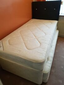3ft Single Guest Bed With Orthopaedic Mattress