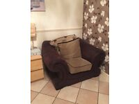Free sofa and armchair if gone today!!!!!!