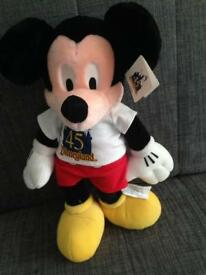 Collectable Plush Mickey Mouse