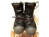 Stihl chainsaw boots size 7