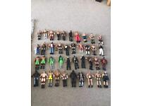Selection of WWE wrestlers, Mini Wrestlers & Accessories