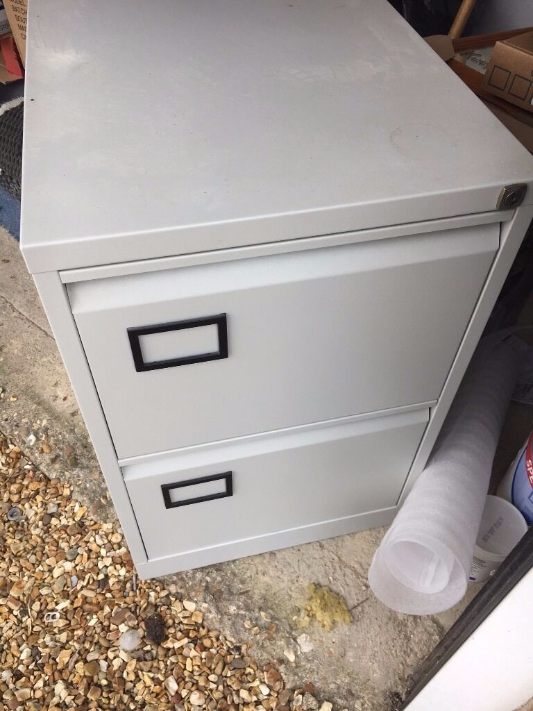 2 Drawer Filing Cabinet Excellent Condition