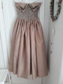 Beautiful real silk dress, can be ball dress, wedding dress, prom dress its lovely