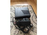 Microsoft Xbox360 a console, 250 gb, model 1439, matte black, cables, 1controller