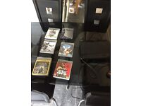 PS3 250gb, 1 controller plus 6 games (no HDMI cable)