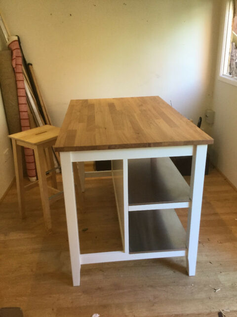 Ikea Stenstorp Kitchen Island And Bar Stool In Ipswich Suffolk