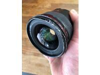 Canon 24mm 1.4L series MK1