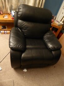very comfortable reclining leather chair for sale