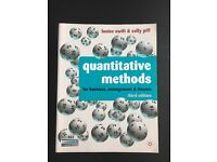 Quantitative Methods for business, management and finance. 3rd edition