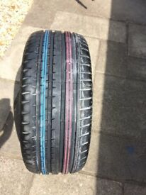 Unused Continental Sport Contact 235/45/17 tyre