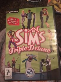 Sims deluxe computer game
