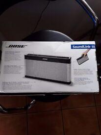 Bose soundlink 3 with box