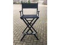 Directors Chair | Made in California by Gold Medal | Vintage Barstool Foldable