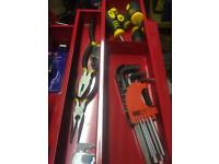Brand new toolkit with tools