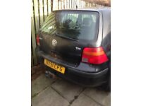 VW golf 1.9 tdi spare parts available breaking turbo gearbox engine