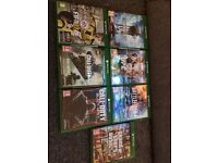 Xbox one boxed with 7 games plus FIFA 16 in the console all games in pics
