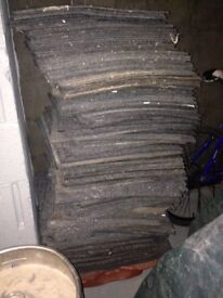 Grey Carpet Tiles, used but good condition £1 each
