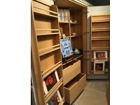 Beautiful soft grey pantry unit - ex-display - SOLD AS SEEN