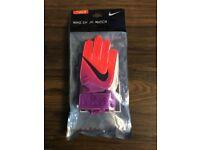 Junior Nike Goalkeeper Gloves (Size 4)
