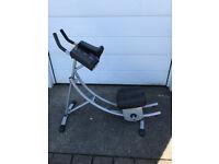 Ab Coaster - Abdominal Crunch Exercise Machine