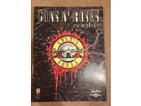Guns N Roses guitar tablature