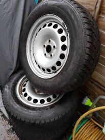 VW tiguan winter tyres.