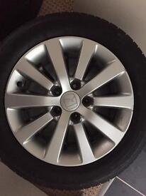 Honda Civic Ep2 alloy wheels
