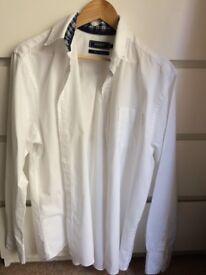 MAINE NEW England mens new pure cotton shirt size Medium ! Bargain !