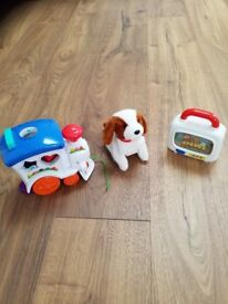 Battery operated toy puppy also ELC toy and Chad Valley toy all for £10