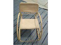 Antique very rare find child's rocker chair