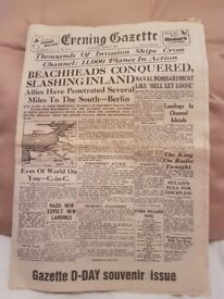 Old Newspapers (D-Day & 50th anniversary souvineer)