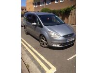 PCO licensed ford galaxy 2009 auto silver colour 140000 miles on the clock all the extras
