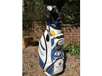 Golf clubs and bag, full set or Tailor-Made clubs and bag as good as new